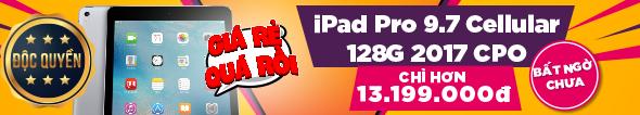 iPad Pro 9.7 2017 GIÁ QUÁ TỐT