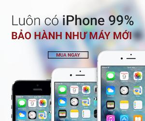 iPhone 99.9%: Giá SIÊU RẺ