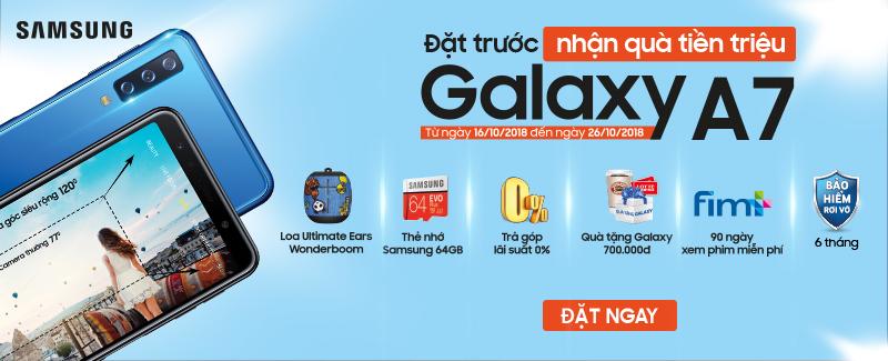 Nhận Quà Khủng Cùng Samsung A7