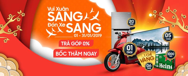 Vui Xuân Sang Đón Xe Sang
