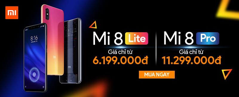 Xiaomi Mi 8 Giá Chỉ Từ 6.199.000đ