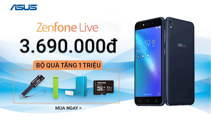 ZenFone Live: CÓ HÀNG