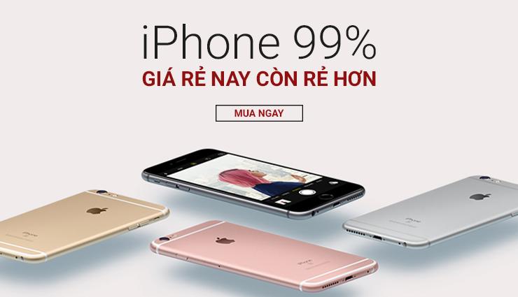 iPhone 99%: SIÊU RẺ