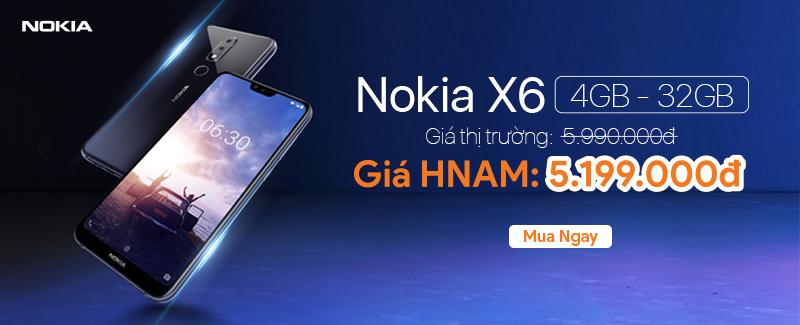 HOT!!! Nokia X6 Đã Có Hàng