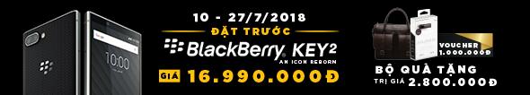 Đặt Trước BlackBerry KEY2, Ngập Tràn Quà Tặng