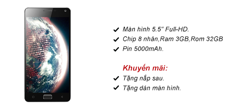 Lenovo Vibe P1 3G Ram