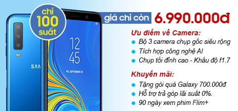 Samsung Galaxy A7 2018 A750 128Gb Ram 6Gb ( không KM)