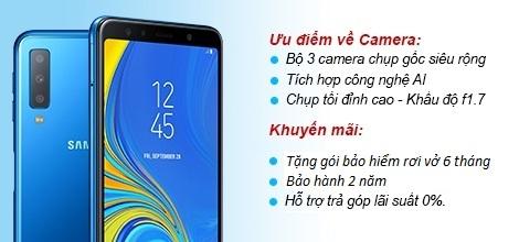 Samsung Galaxy A7 2018 A750 128Gb Ram 6Gb