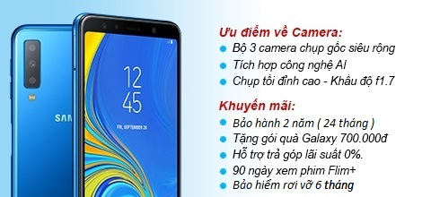 Samsung Galaxy A7 2018 A750 64Gb Ram 4Gb Blue