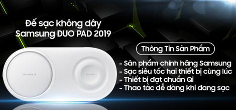Đế sạc không dây Samsung DUO PAD 2019