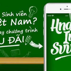 """""""Hnam iu SVVN"""" – Ưu đãi dành riêng cho Sinh viên Việt Nam"""