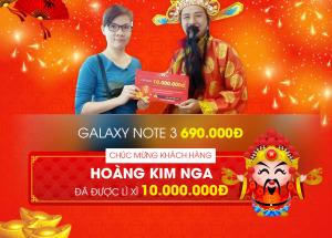 """""""Tậu"""" Samsung Galaxy Note 3 chỉ với 690.000đ"""
