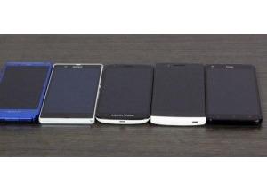5 điện thoại màn hình 'khủng' so tài