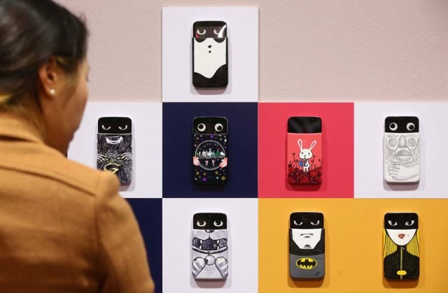Ấn tượng triển lãm về smartphone