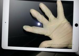 Ảnh iPad 5 với viền siêu mỏng