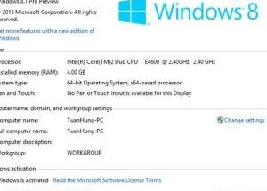 Ảnh những thay đổi trên Windows 8.1 Preview