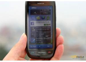 Ảnh thực tế Nokia C7
