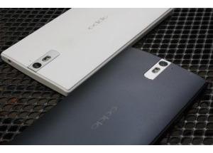 Ảnh thực tế Oppo Find 5 phiên bản màu đen