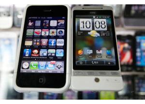 Apple thắng kiện HTC