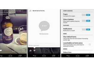Bản thử nghiệm Facebook Home được chia sẻ trên mạng