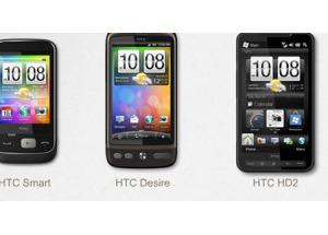 Các dòng smartphone của HTC