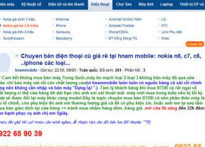 Cảnh báo lừa đảo, giả danh thương hiệu Hnam Mobile