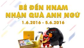 Cực sốc: Bé đến Hnam - Nhận quà Anh ngữ