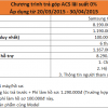 Cùng ACS trả góp Samsung Galaxy A5 lãi suất 0%