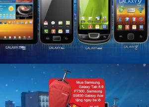 Hnam Mobile - Cùng Samsung Galaxy, Đón xuân sang, mang quà tới.