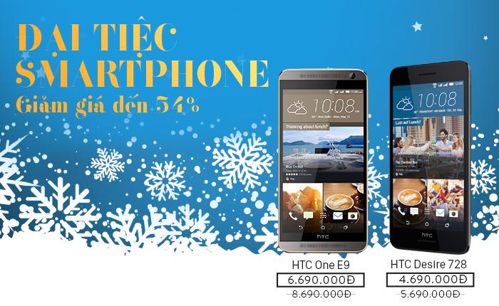 Đại tiệc smartphone 29/11 – Giảm giá đến 54%
