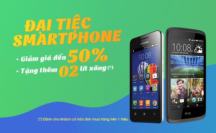 Đại tiệc smartphone tuần 4 – HTC Desire 326G, Lenovo A319 giá chỉ từ 899.000đ
