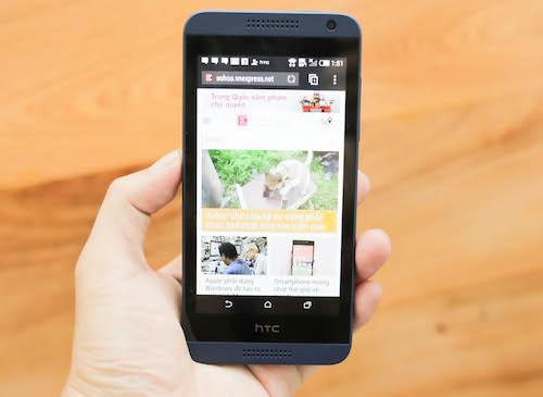 Đánh giá smartphone 2 SIM nhiều màu sắc HTC Desire 610