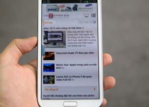 Đập hộp Samsung Galaxy Note II 2 sim tại TP HCM