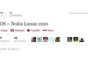 Điện thoại 41 'chấm' của Nokia có tên Lumia 1020