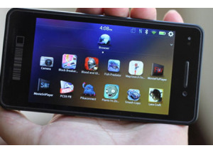 Điện thoại BlackBerry 10 đầu tiên có tên Z10