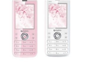 Điện thoại Q-mobile 'Nàng' gắn đá zicronia