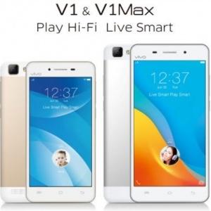 Điện thoại Vivo V1 và Vivo V1 Max được bán tại thị trường Ấn Độ