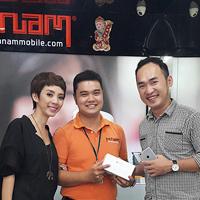 Diễn viên Thu Trang và diễn viên Tiến Luật