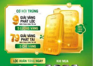 Đón Xuân vàng cùng Samsung Mobile tại Hnam Mobile