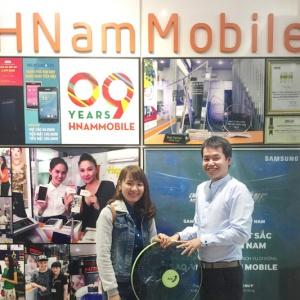 Bất ngờ trúng Tivi TCL 40 inch nhờ mua điện thoại Huawei tại Hnam Mobile