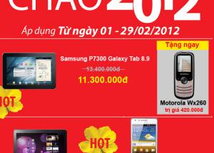 Giá Shock tại Hnam Mobile, mừng năm mới 2012.