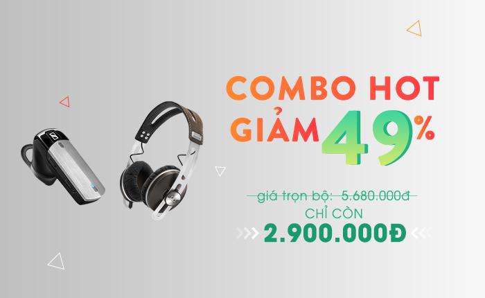Giảm 49% combo tai nghe Sennheiser cao cấp – Số lượng có hạn