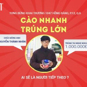 Giảm giá 57%, tặng ngay tai nghe trị giá 1 triệu đồng tại Hnam Mobile 14