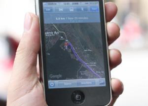 Google Maps đã hỗ trợ dẫn đường tại VN