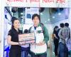 Hai khách hàng may mắn mua Alcatel trúng điện thoại Phablet Alcatel cao cấp