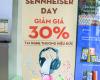 Hình ảnh Sennheiser day - giảm giá 30% tai nghe Đức tại Hnam Gò Vấp