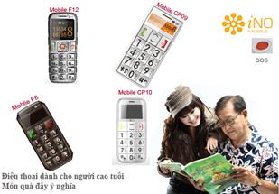 Hnam Mobile chính thức phân phối điện thoại cho người già INO tại TpHCM.