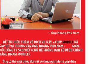 Hnam Mobile trả lời phỏng vấn về chương trình trả góp 2010