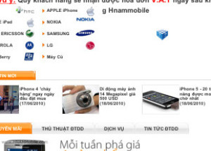 Hnam Mobile ra giao diện cho di động