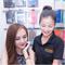 Hot girl Kelly Nguyễn mua iPhone 6 - tháng 9/2014